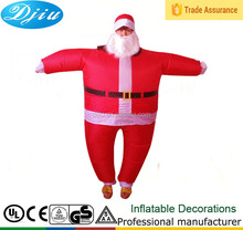 SANTA INFLÁVEL FANCY DRESS COSTUME OUTFIT <span class=keywords><strong>TERNO</strong></span> <span class=keywords><strong>PAI</strong></span> <span class=keywords><strong>NATAL</strong></span> XMAS PARTY