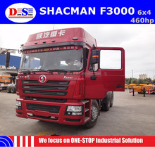 Shacman Brand New 10 wheels 460hp 6x4 Tractor Truck