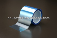 Fluorosilicone blue pet release film