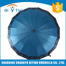 Factory manufacture various blue classic large umbrella for men