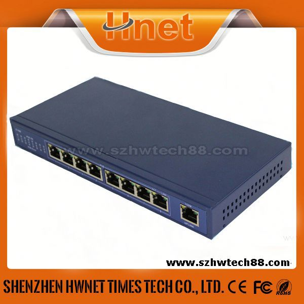 32 port poe switch 9 Port power over ethernet poe switches with 8 poe ports