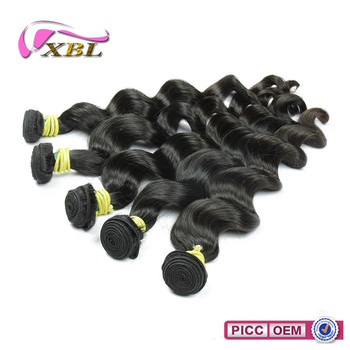 XBL hair wholesale smooth new arrival 100% unprocessed human remy hair