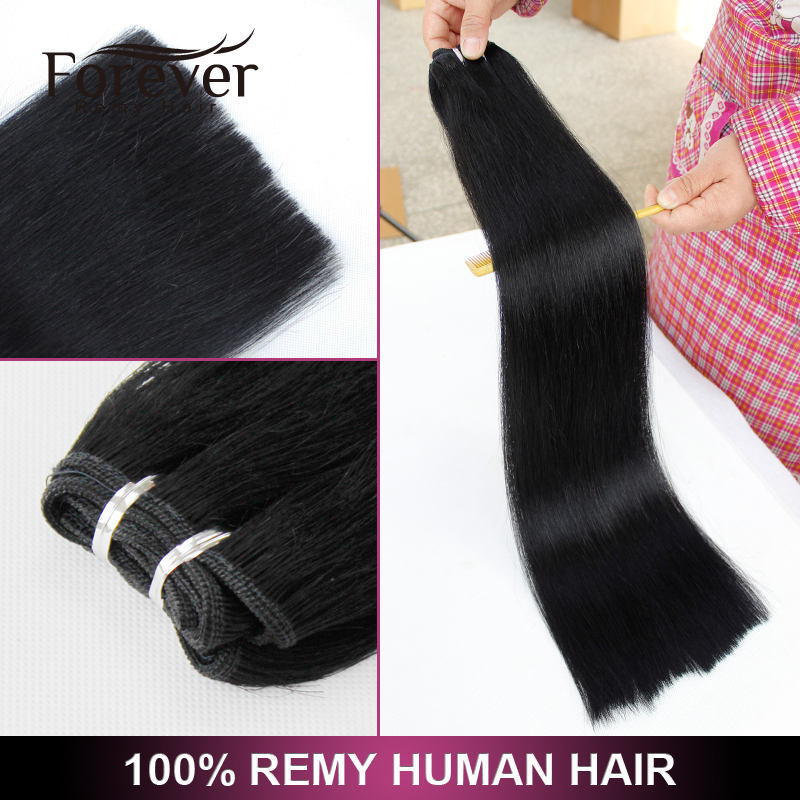 Wholesale Natural balck straight hair wave / Vietnam raw remy virgin human hair extension
