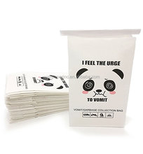 Disposable Barf Bags - 50 pack Meme Travel Motion Sickness Vomit Bags