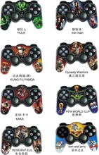 2016 wholesale Wireless Joystick Joypad controller 2.4G cartoon photo for PS2