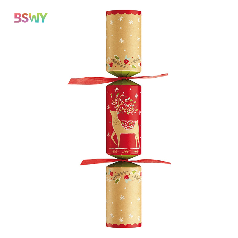 "12"" Family Christmas Crackers-Choice of 3 Tradtional or Contemporary Designs"