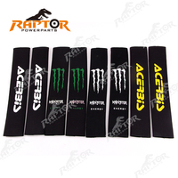 Front Fork Shock Absorber Cover Protector Guard Wrap Protection Set For Dirt Bike Pit Bike Motorcycle Motocross