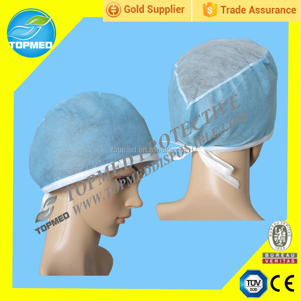 Industry disposable nonwoven products doctor cap with best price