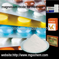 Magnesium Oxide manufacturer For Pharmaceutical medicine rhinitis ling