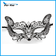 Exquisite Metal Princess Black Sexy Venice Mask