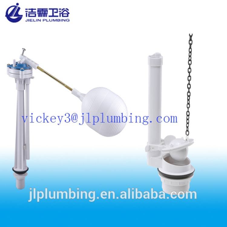 Durable toilet tank fittings ballcock fill valve types toilet flushing mechanisms