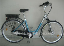 flyingpigeon alloy 700c lady type electric bike with shimano internal 8speed