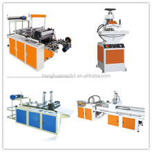 HDPE LDPE Biodegradable Garbage Cloth T-Shirt Carry Poly Nylon Polythene Shopping Plastic Bag Making Machine Price