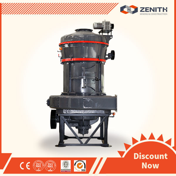 ZENITH High efficiency gypsum powder making machinery with ISO Approval