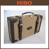 Canvas and Top Quality Genuine Leather Hunting Utility Box Type Ammo Can/Box