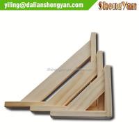 Various Sizes Decorative Wood Wall Shelf Hanging Bracket