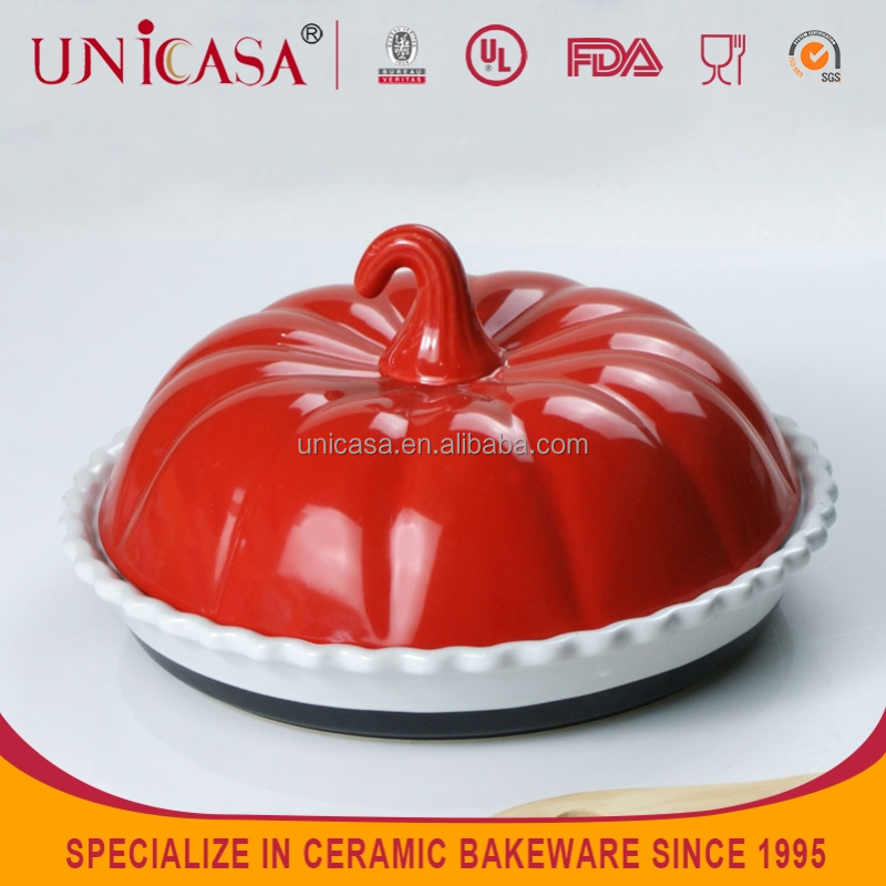 UNICASA STOCK pumpkin dishes and plates,steak grill plates
