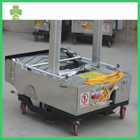 auto wall rendering machine for construction site