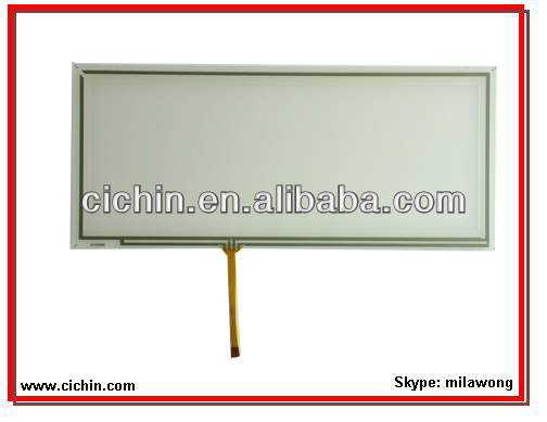 9 inch 4 wire resistive touch screen panel for touch monitors, with USB or RS232 controller