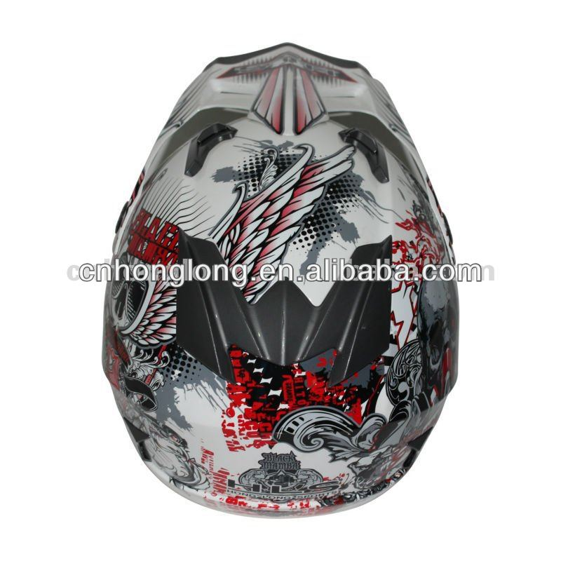 motocross plastic toy helmets(ECE&DOT Approved)