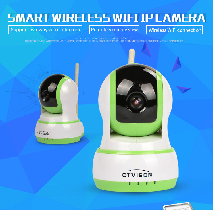 2016 New fashion products Promotion personalized 960 p home video security Green Color