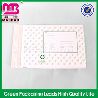 Customized based on your requirement white bubble shipping envelopes custom wrap
