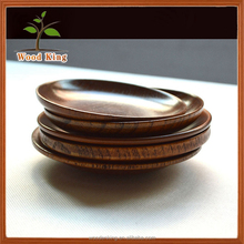Multiple Specification Sauce Dish Custom Logo Wooden Mini Size Of Dessert Plate