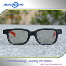 HCP13 Classical 2017 Simple Design Customed Color Circular Polarized Passive Lenses Professional 3D Glasses&Frame