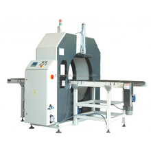 Advanced quality horizontal stretch wrapper orbital wrapping machine with PLC Control