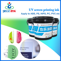 High adhesive plastic bag printing ink