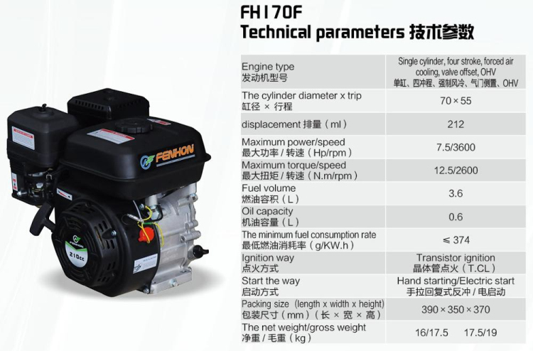2017 New Arrival 2kw 5.5hp small gasoline generator 2KW type the with big fuel tank
