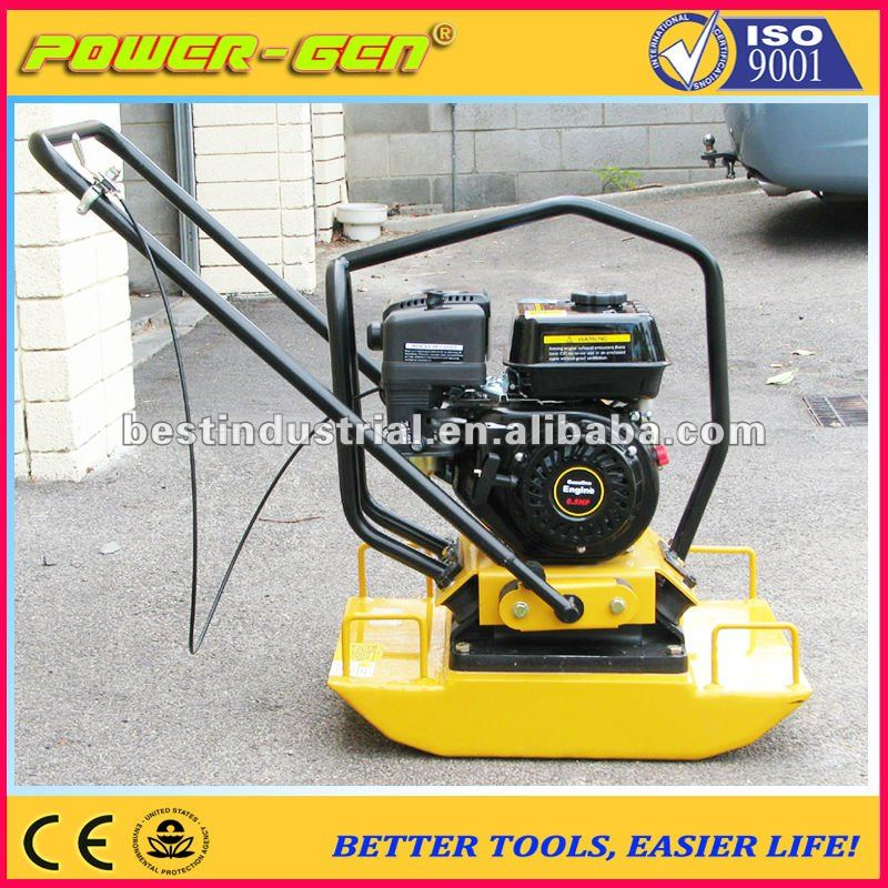 TOP SELLER!!! POWER-GEN 100KG One Way Wacker Compactor Plate