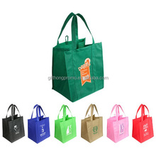 Manufacturer custom gift non-woven grocery bag with logo