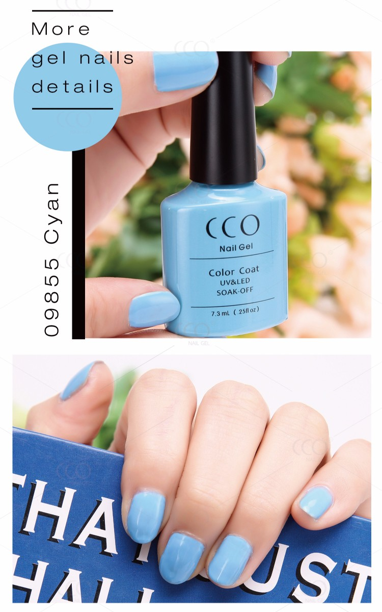 CCO Hot Sale Wholesale Natural Material Soak Off UV Gel Nail Polish