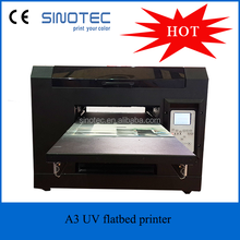 A3 UV Flatbed Printer,uv flat bed printer With DX5 Head, 330*600mm Flatbed UV Printer