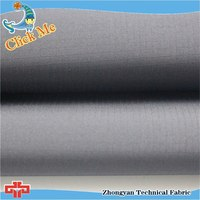 Good spandex polyester pongee compsite with fleece fabric