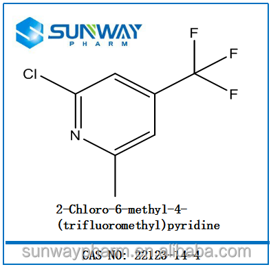 cas:22123-14-4 2-Chloro-6-methyl-4-(trifluoromethyl)pyridine