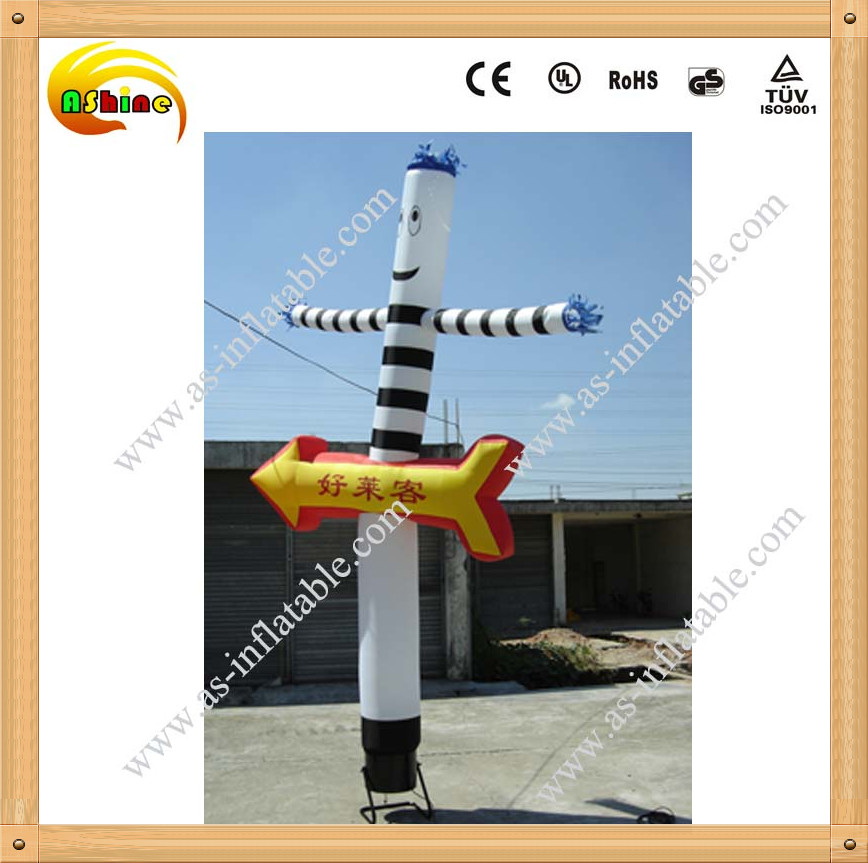 Popular and lovely inflatable toys air dancer on promotion