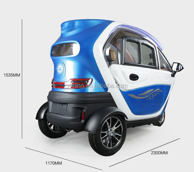 Cabin Mobility Scooter Fully Enclosed Mobility Scooter