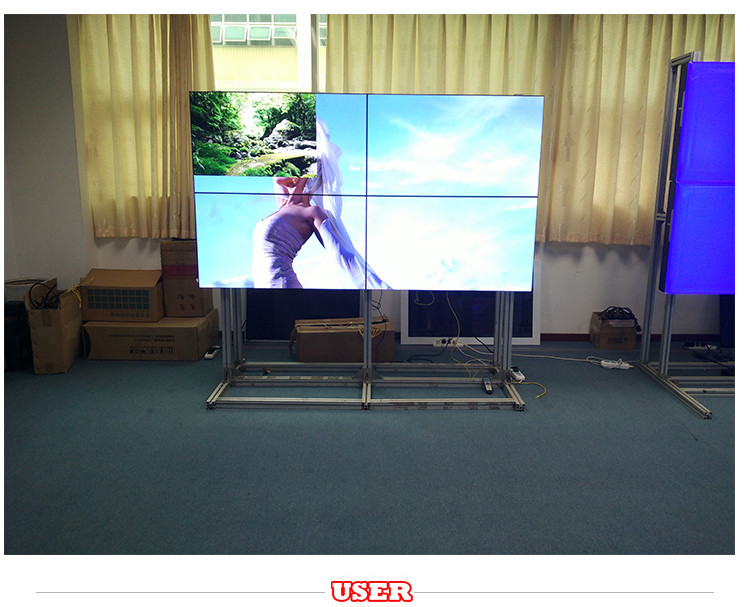 65 inch ultra narrow bezel lcd video wall