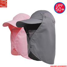 Outdoor Sun UV Protection Neck Flap Ear Cover Fishing Hunting Hat With Face Mask