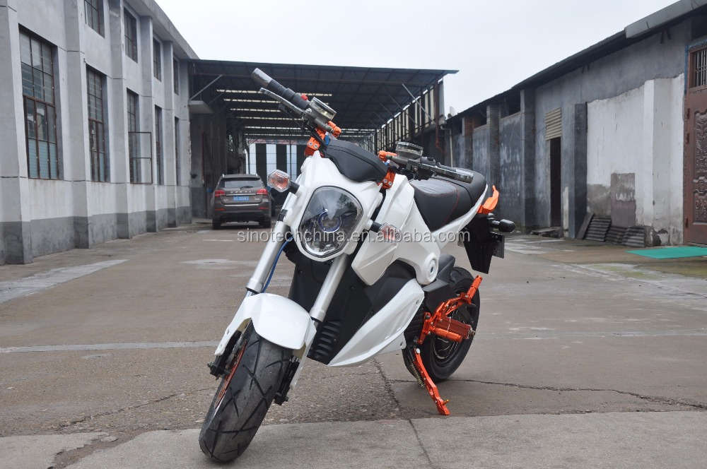 hot 72V 2000W electric motorcycle moped