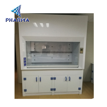 Safe Laboratory Duct Fume Hood With PP Sink,lab cabinet/desk