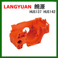 Chain Saw Spare Parts for Hus137 hus142 Chainsaw crankcase