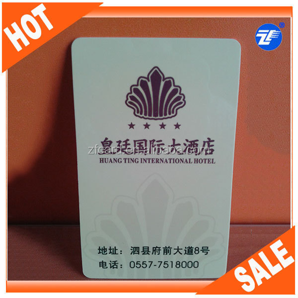 High quality sample warranty card