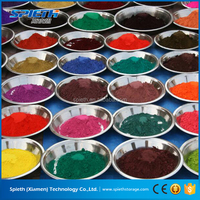 Lowes concrete paint iron oxide powder /powder coating pigment / aluminium powder coating