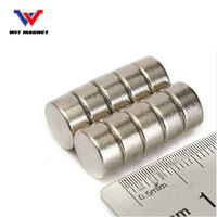 Super Strong Cylinder Round Disc Magnets Rare Earth Neodymium N52 10x5mm For Power Tool