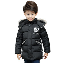 Chinese Manufacturer Padded Children Winter Parka Jacket Accept OEM