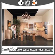China gold supplier hot selling island pvc kitchen cabinets