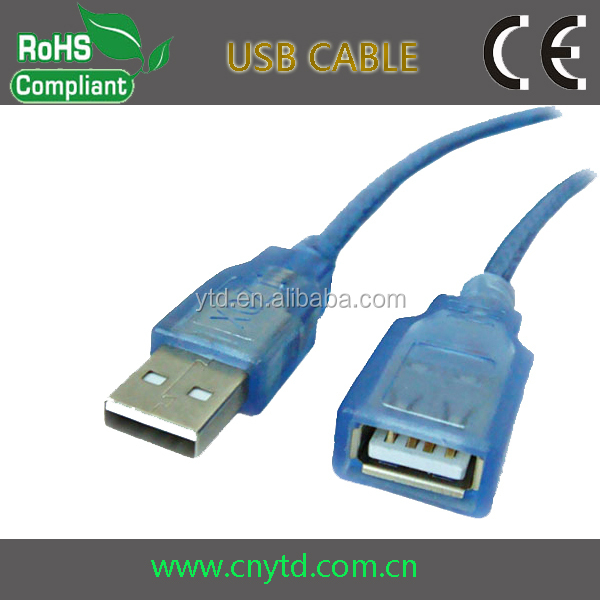 Extension cable usb shielded high speed cable 2.0